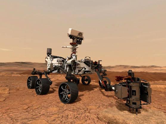 La NASA colocó con éxito en Marte el 'rover' Perseverance y comienza a buscar restos de vida