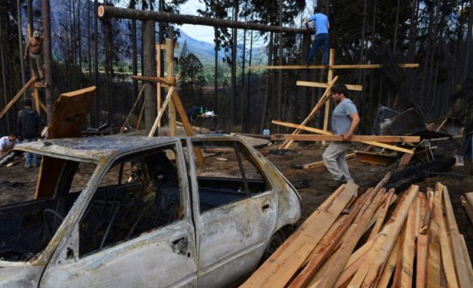 """""""No nos olvidemos que la Patagonia todavía nos necesita"""": Autoconvocados de San Carlos piden seguir colaborando"""