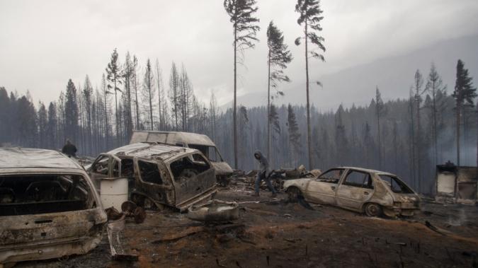 Vecinos de Tunuyán también recolectan donaciones para los damnificados por el fuego en la Patagonia