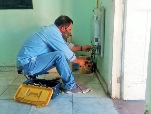 Mendoza: Infraestructura continúa con obras de calefacción en escuelas durante 2021