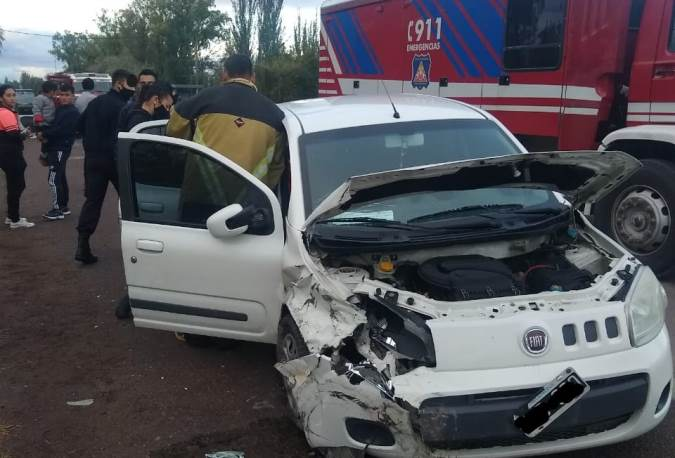 Accidente en Tunuyán 11 de abril