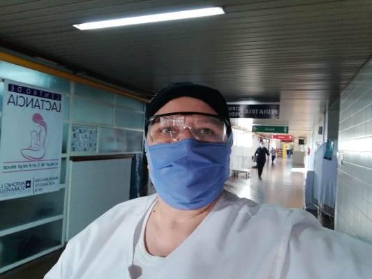 ¡Un ejemplo! Empezó siendo enfermera de oficio y se convirtió en la jefa de Servicio de Control de Infecciones
