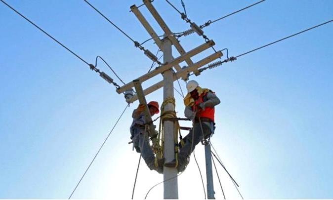 trabajadores energia electrica