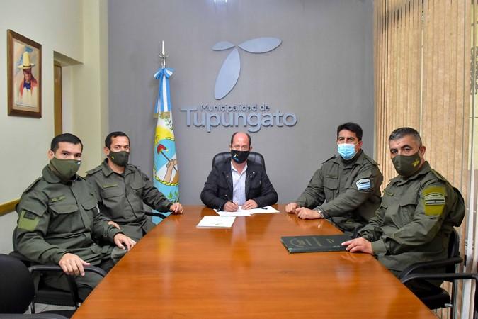 En Tupungato, Gendarmería acompañará los controles de los inspectores de Tránsito