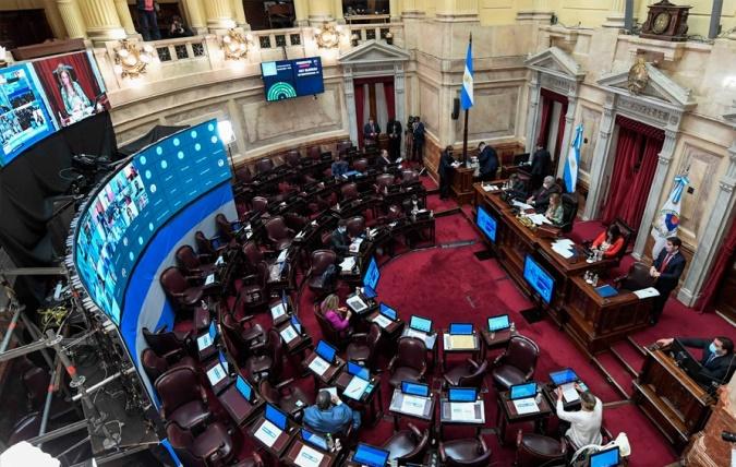 El Senado aprobó el proyecto de medidas para contener la pandemia: pasa a Diputados