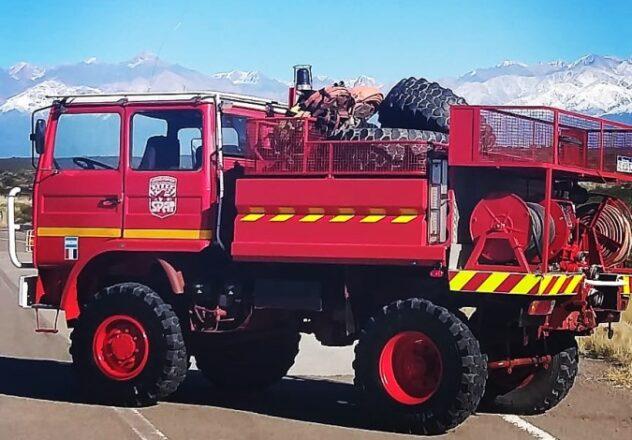 Nuevo camion - bomberos voluntarios