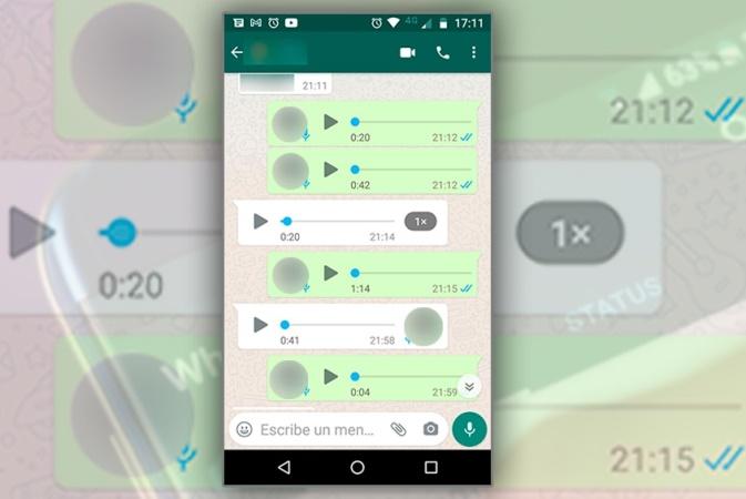 ¿Ya actualizaste WhatsApp? Ahora se pueden escuchar audios en velocidad aumentada