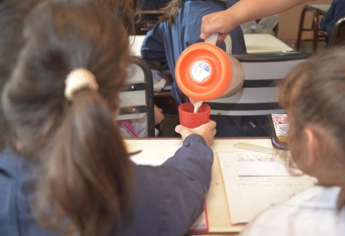 Asistencia a escuelas del Valle de Uco: se triplicó la llegada de meriendas e inició la entrega de módulos alimentarios
