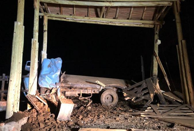 Accidente camino al Manzano 7-6 - foto 2 gentileza