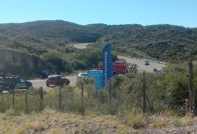 Accidente fatal en Tupungato 13 de junio foto gentileza
