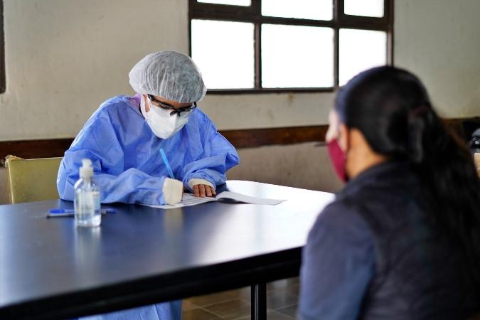 """Terminó el primer operativo de testeos en Tupungato: """"Esperamos que lo podamos repetir"""""""