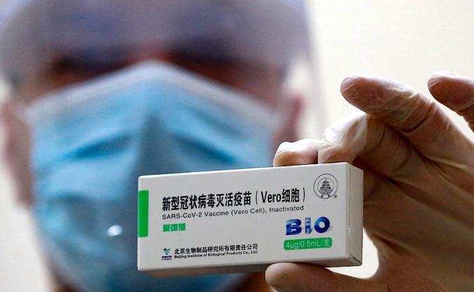 Llega al país otro vuelo de China con más vacunas Sinopharm