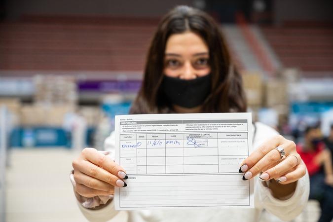 Mendoza: cerca del 70% del personal de las escuelas está vacunado con una dosis y del 25% con las dos