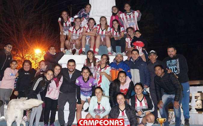 ¡Copa de oro para las Villeras! El SCSC es el máximo campeón del fútbol femenino de San Carlos
