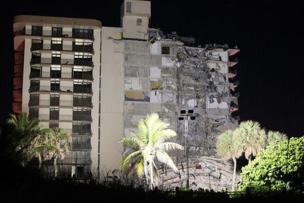 Derrumbe en un edificio en Miami: confirman que hay al menos cuatro argentinos desaparecidos