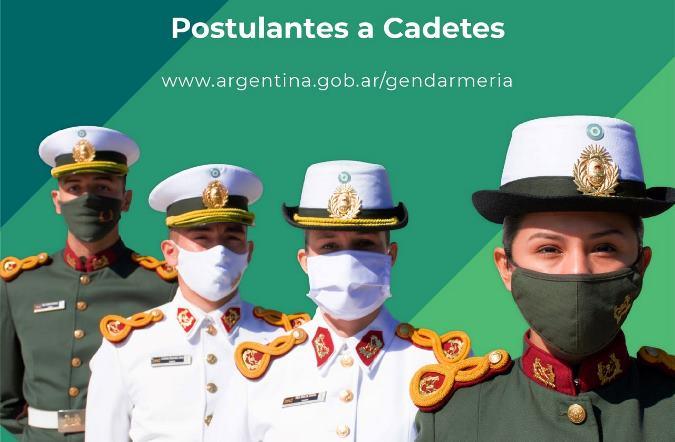 preincripciones postulantes cadetes gendarmeria