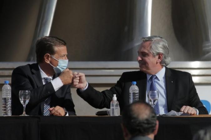 Suarez participó en la capitalización de IMPSA con el presidente y nombró al representante de la provincia en el directorio