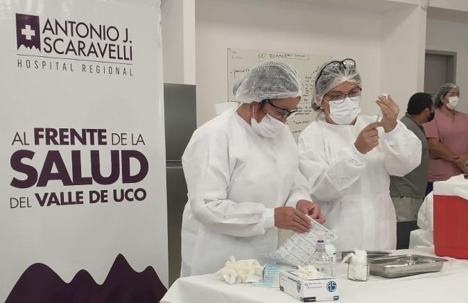 ¡Muy buena noticia! En Valle de Uco ya están vacunando con la segunda dosis de la Sputnik