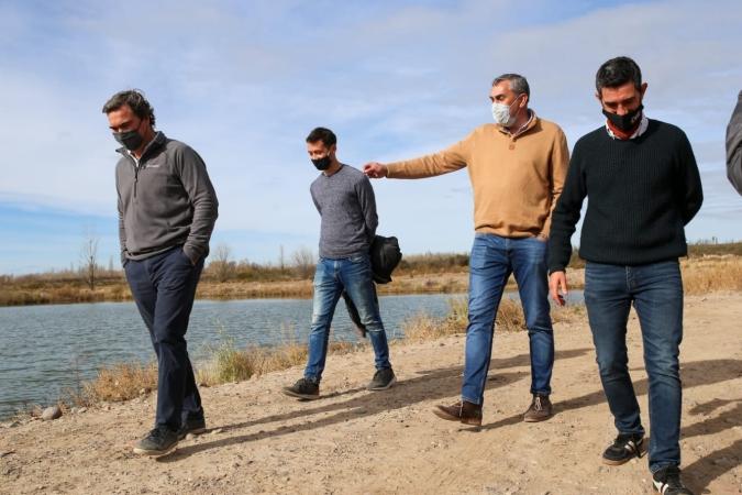Mendoza financió un innovador proyecto de riego por goteo con energía solar en el Valle de Uco
