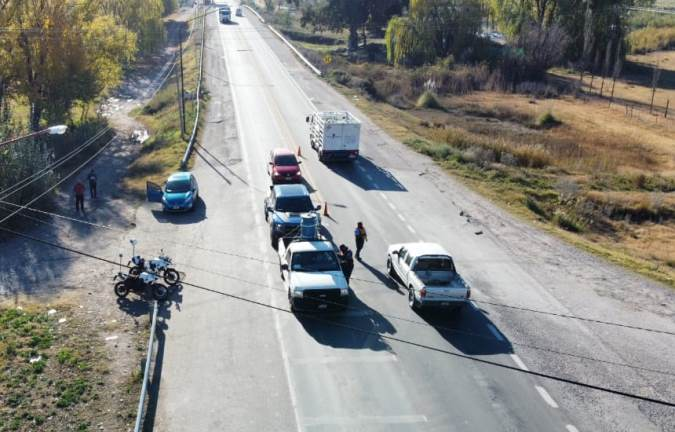Por la llegada de turistas, el Gobierno aumenta los controles en rutas del Valle de Uco