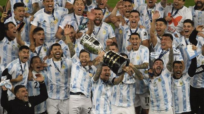 """La """"Scaloneta"""" arrasó: Gracias Lioneles! Gracias muchachos! Viva el fútbol y la Argentina!!"""