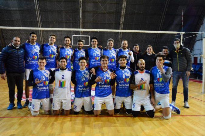 Tunuyán venció a un difícil rival y se consagró campeón del Torneo Apertura de Vóley