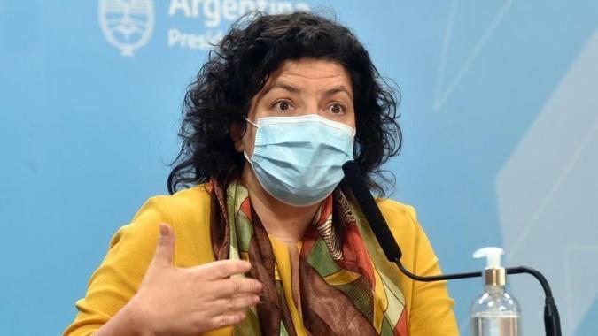 La ministra de Salud anunció un acuerdo con Pfizer para la provisión de 20 millones de vacunas
