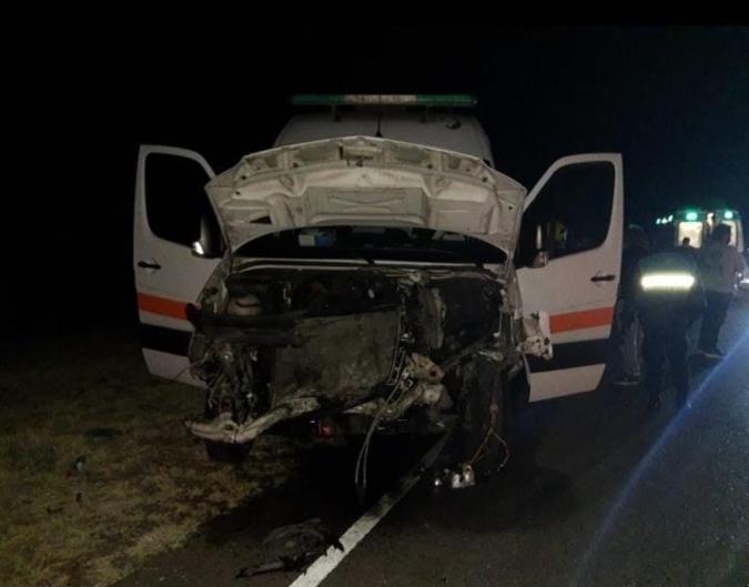 Un joven alcoholizado chocó de frente a una ambulancia del Hospital Las Heras