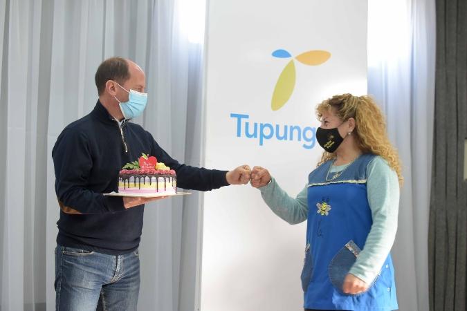 El intendente Gustavo Soto agasajó a docentes tupungatinos en su mes