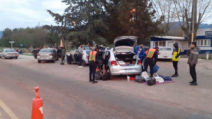 Miles de multas viales y de litros de alcohol decomisados en los controles por el Día del Estudiante