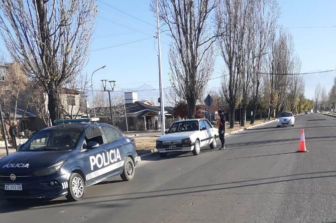 Operativo en Tupungato terminó con 33 aprehendidos por diferentes infracciones