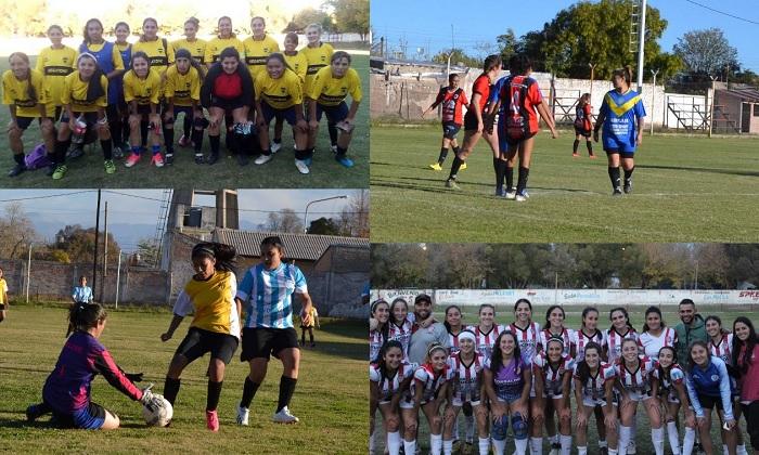 El fútbol femenino de San Carlos arranca hoy su primer campeonato oficial y las pibas van con todo