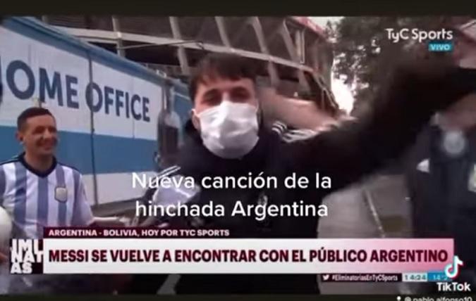 """""""En Argentina nací, tierra de Diego y Lieonel"""": el nuevo hit para alentar a la Selección"""
