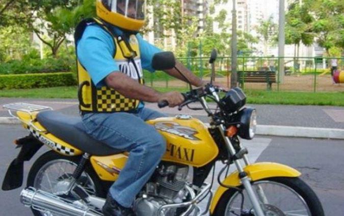"""Un tunuyanino busca que su servicio de """"MotoTaxi"""" se habilite como nuevo medio de transporte"""