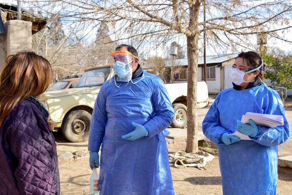 Operativo vacunación Covid-19 en terreno: buscarán a tupungatinos que no tengas ninguna dosis