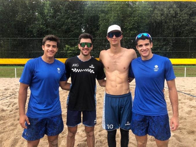 Beach Volley: Bautista Amieva disputará mañana su última fecha de la gira europea