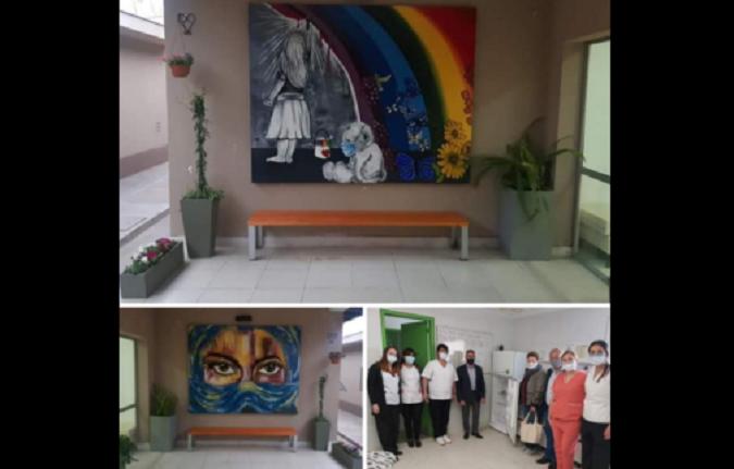 El Tagarelli recibió nuevas donaciones que cubrirán necesidades y hermosearán el nosocomio