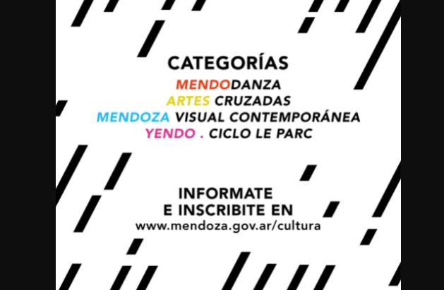 ¡Atención! Interesantes convocatorias para artistas mendocinos