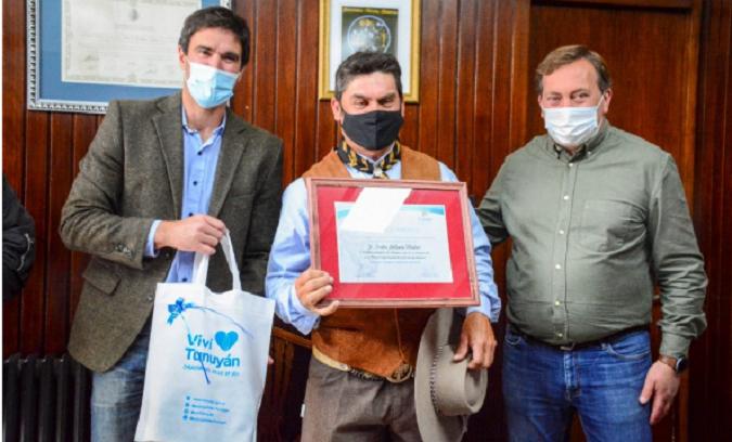 ¡Reconociendo el arte ecuestre! El Municipio de Tunuyán y el HCD recibieron a hacedores culturales