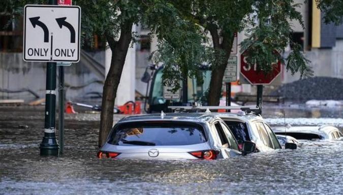 """""""Las autopistas se convirtieron en ríos"""": un sancarlino en medio del huracán de Nueva York"""
