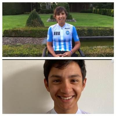 ¡Orgullo! Dos valletanos representarán a Mendoza en el Mundial de ciclismo de ruta en Bélgica