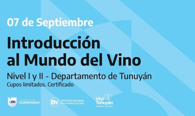 Abren las inscripciones para iniciarse y continuar capacitándose en el mundo del vino