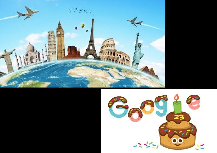 Efemérides: 27 de septiembre, aniversario de Google y Día Mundial del Turismo