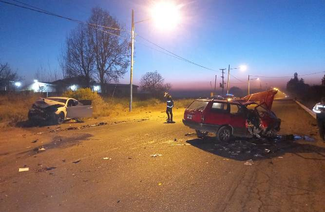 Accidente fatal San Carlos
