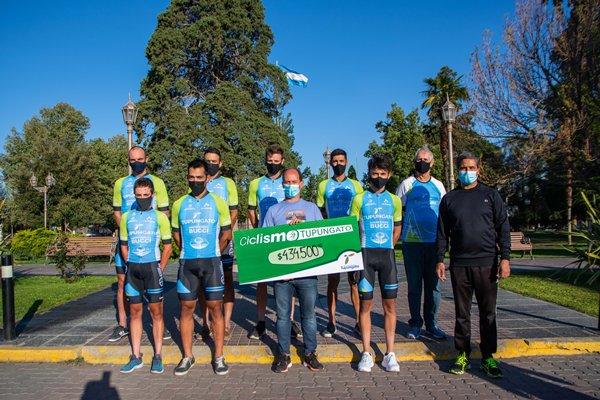 ¡Se cumplió el sueño! El equipo de ciclismo de Tupungato representa al departamento por el país