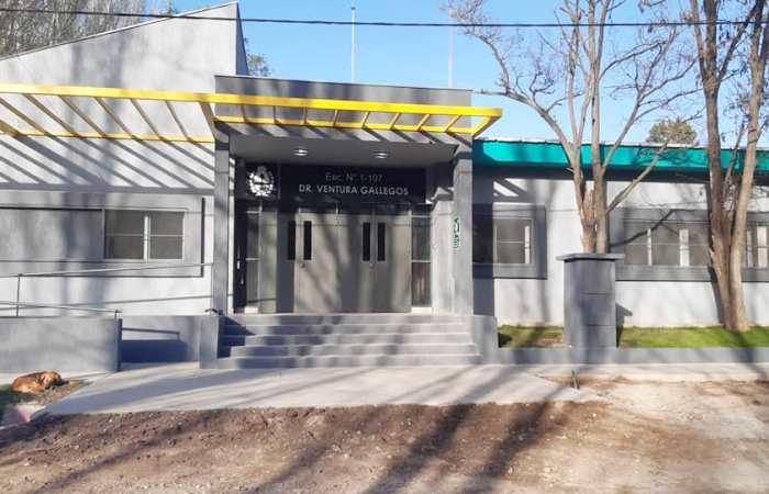 ¡Quedó hermosa! Abrió sus puertas la nueva Escuela Ventura Gallegos de Tunuyán