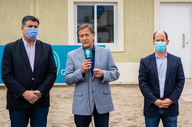 Tupungato: Suarez y Soto firmaron un convenio millonario para obras de pavimentación