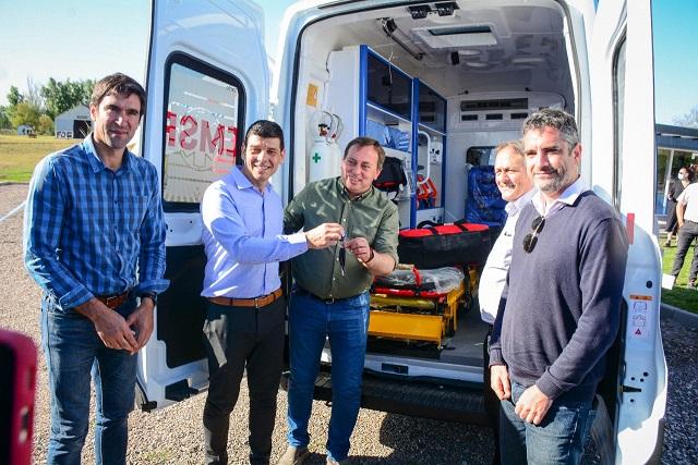 Tunuyán sumó una ambulancia de alta complejidad al sistema sanitario