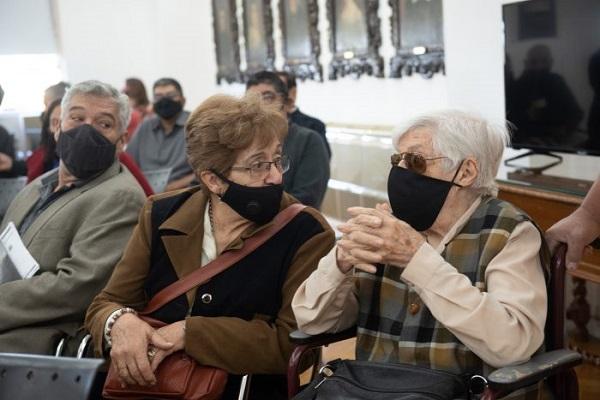 Suarez anunció acciones que beneficiarán a pequeñas asociaciones de jubilados