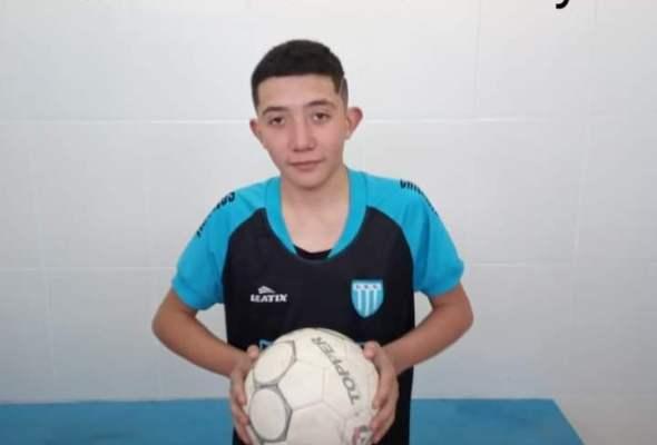 Recaudan dinero para Michel Luna, un jugador del Club de Chilecito que necesita ser operado